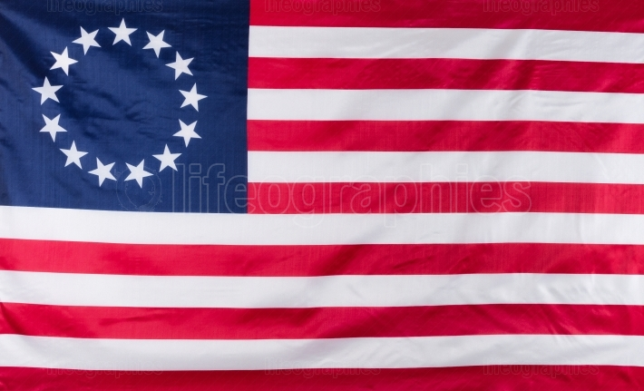 13 star flag for the original colonies of America