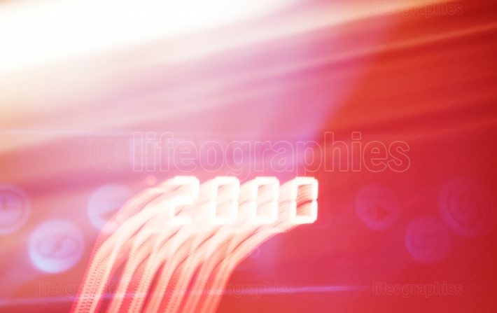 2000 year light motion blur abstraction backdrop