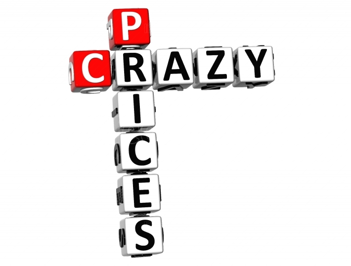 3D Crazy Prices Crossword