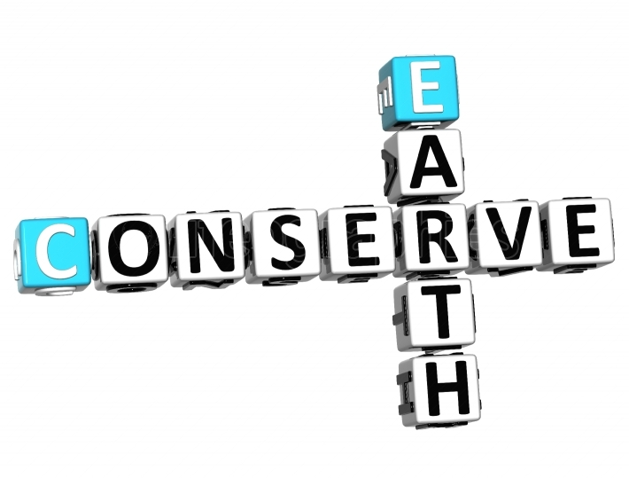3D Earth Conserve Crossword