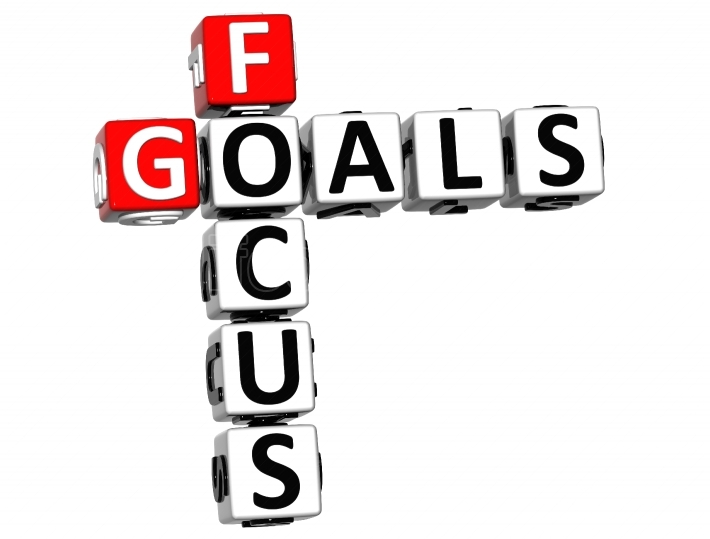 3D Focus Goals Crossword cube words