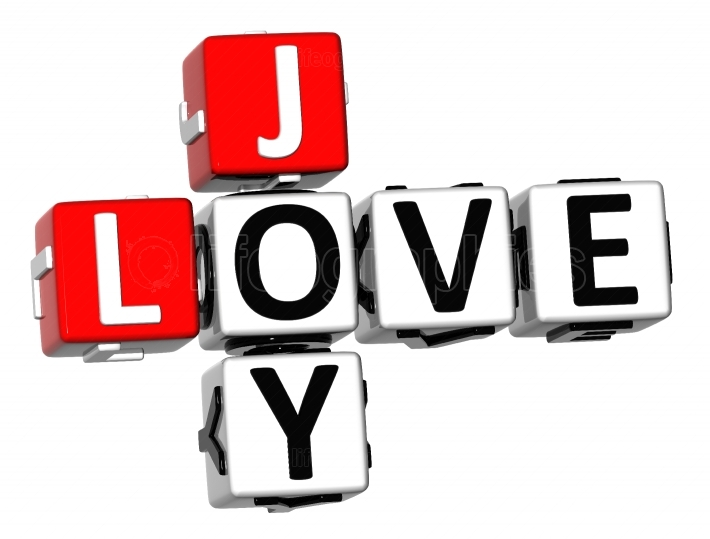 3D Joy Love Crossword
