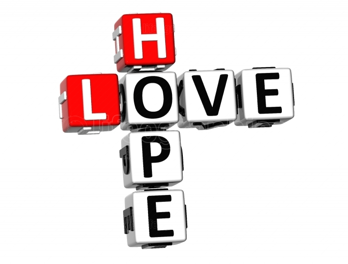 3D Love Hope Crossword