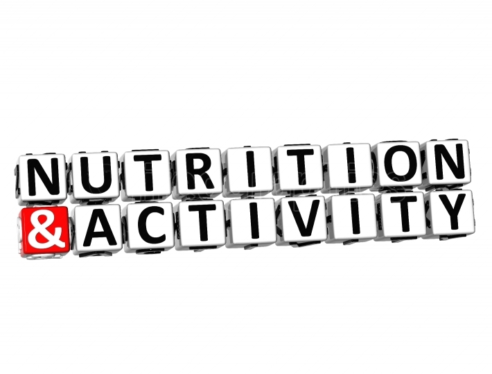 3D Nutrition And Activity Button Click Here Block Text