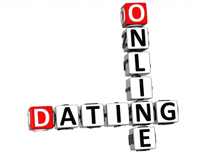 3D Online Dating Crossword cube words