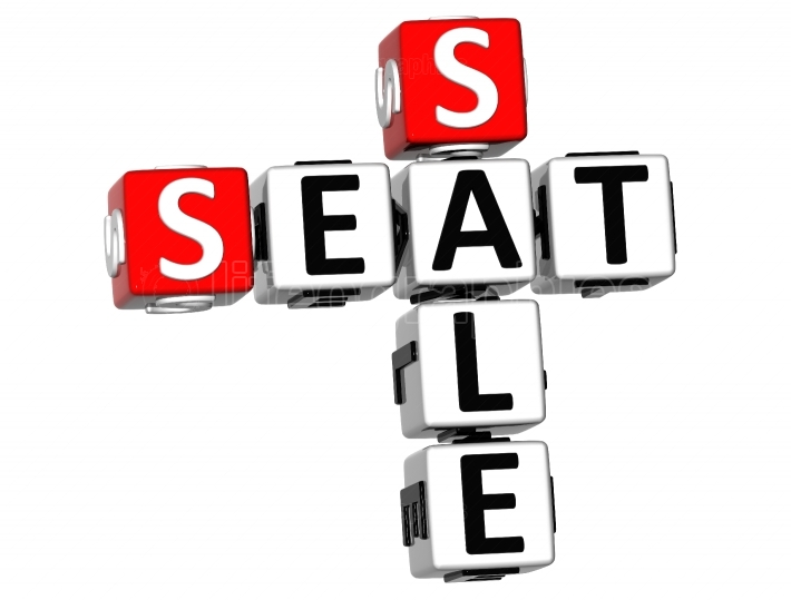 3D Seat Sale Crossword