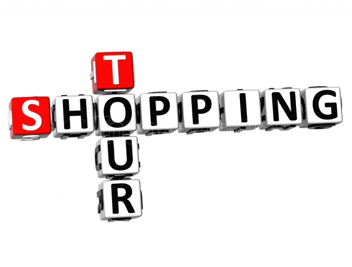 3D Shopping Tour Crossword