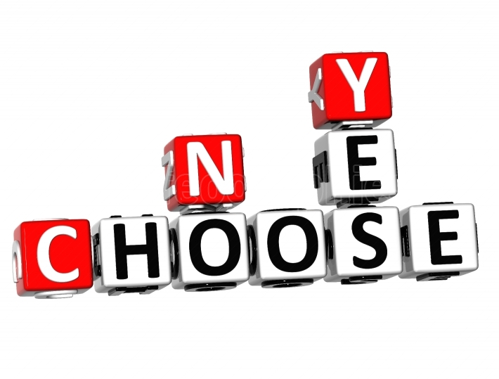 3D Yes No Choose Crossword
