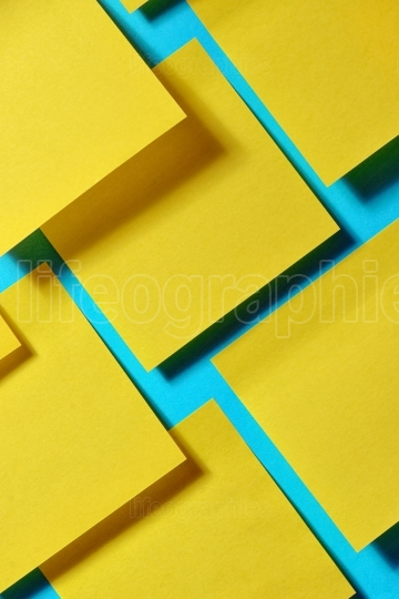 Abstract background with post it note