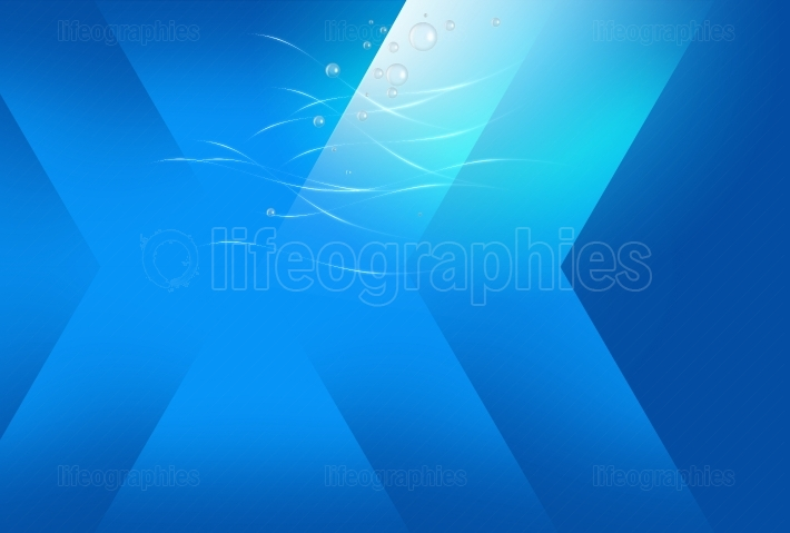 Abstract deep ocean blue background