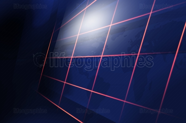 Abstract high tech digital technology background concept series