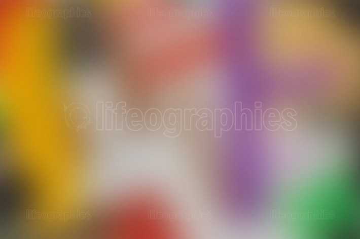 Abstract red magenta purple blue and yellow blur color gradient background for design concepts wallpapers web presentations and prints