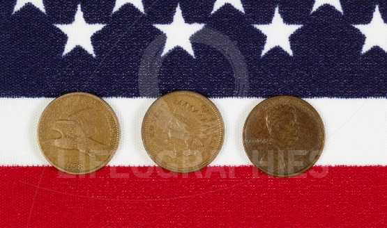 American History of the Once Cent Piece