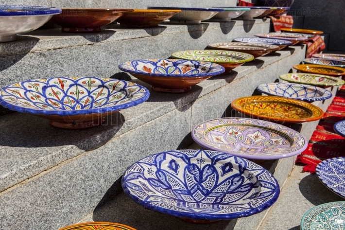 Arabic handcrafted plates