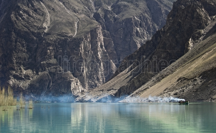 Attabad lake from karakoram