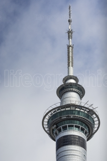 AUCKLAND, NEW ZEALAND - NOV 24 2014: 328 metres (1,076 ft) tall