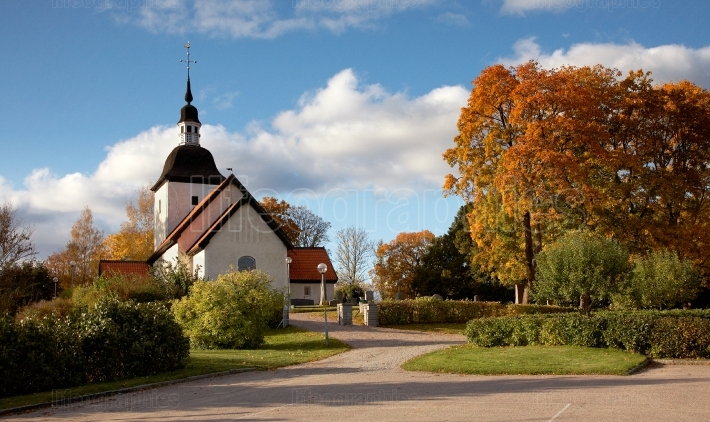 Autumn at Tveta Church