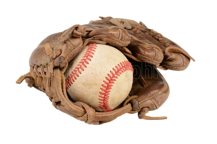 Baseball Glove Closeup
