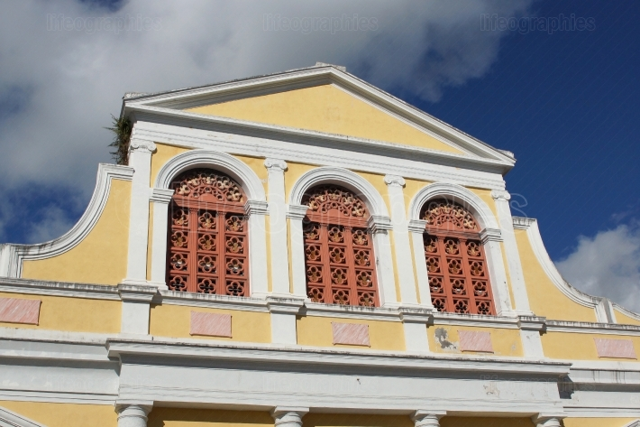 Basilica of Pointe a Pitre, Guadeloupe, Caribbean