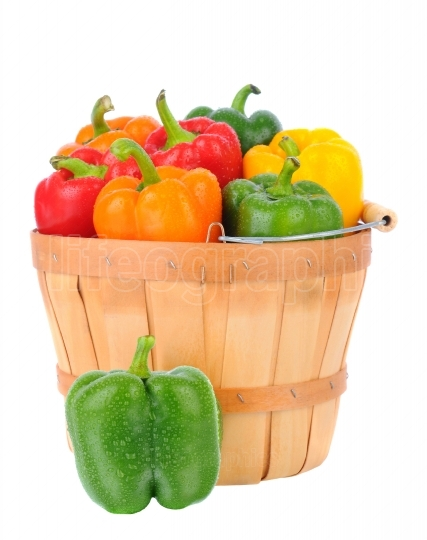 Basket of Bell Peppers