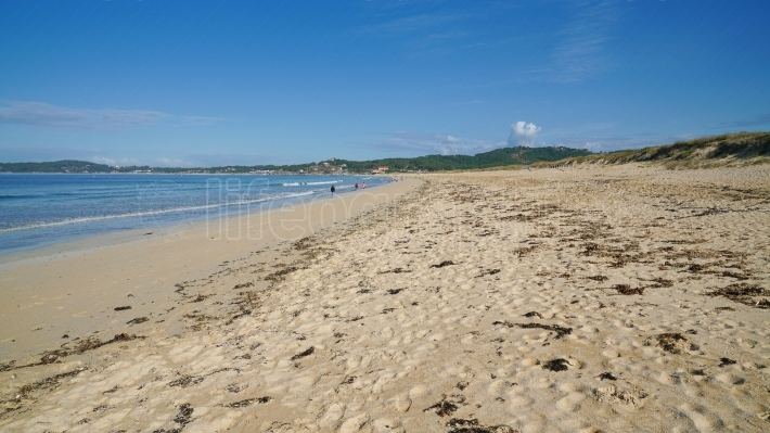 Beach close to O Grove, Galicia, Spain
