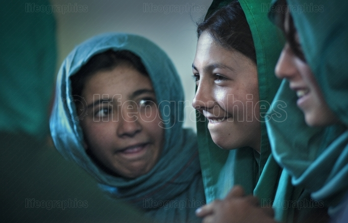 Beautiful young girls from shimshal village