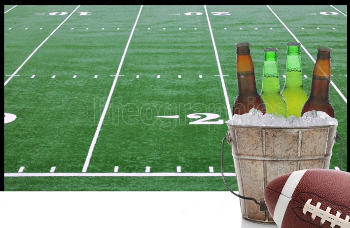 Beer Bucket Football Television