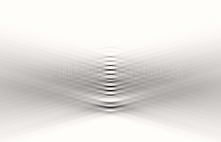Bended black and white liens illustration background