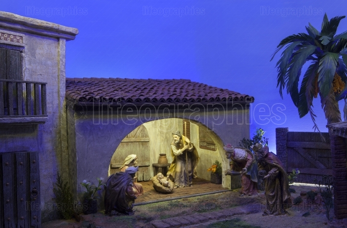 Biblical Magi  Christmas Nativity scene