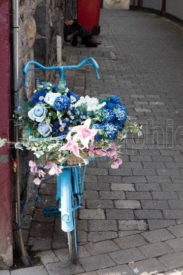 Bike with flowers
