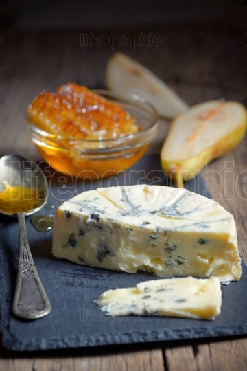 Blue Cheese and honey