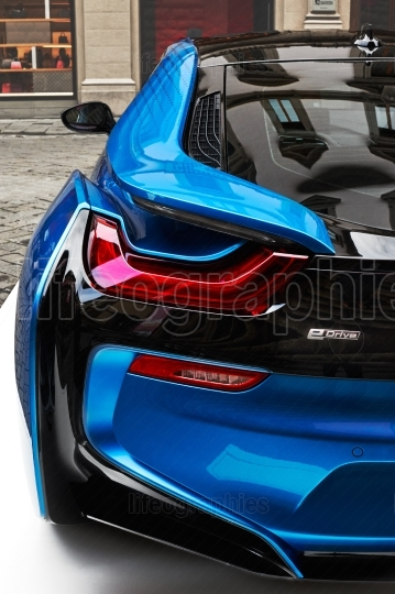 BMW i8 concept electric vehicle