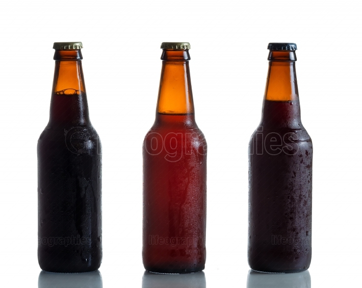 Bottled Fresh Cold Beer