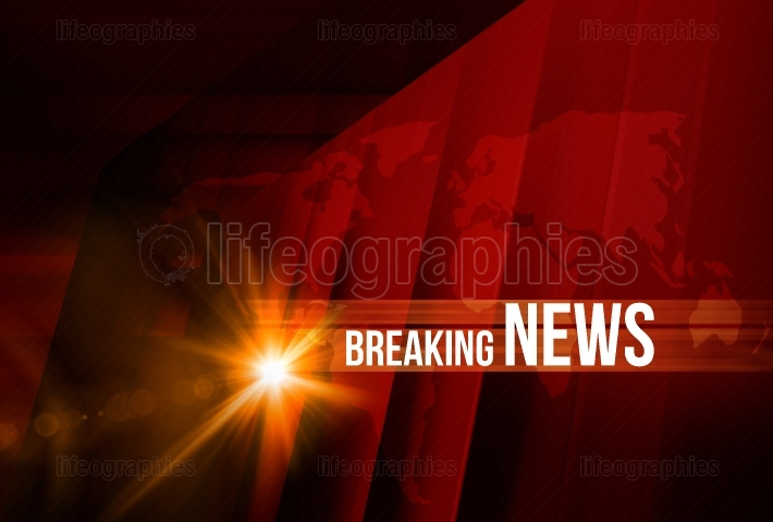 Breaking news background concept series 179