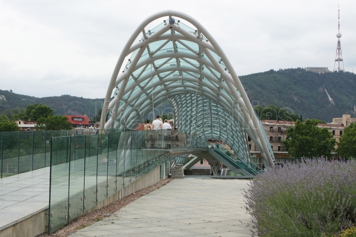 Bridge of Peace, Tbilisi, Georgia