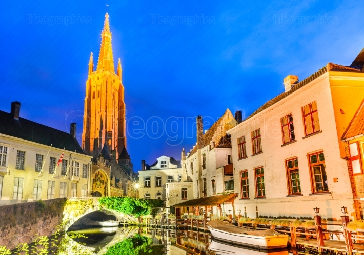 Bruges, Belgium - Church of Our Lady