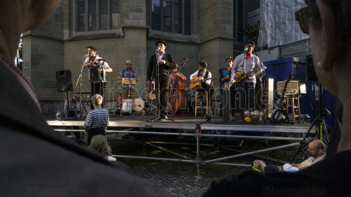 Buskers streetmusic festiva from bern