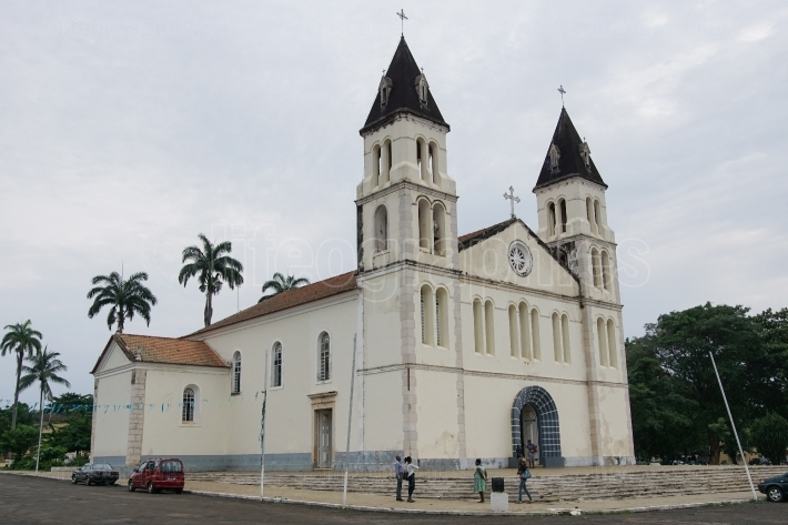 Cathedral of Sao Tome, Sao Tome and Principe, Africa
