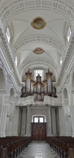Cathedral of Solothurn. Switzerland