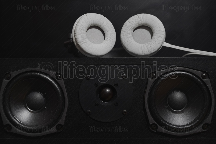 Central speakers from a 7.1 THX Hi-Fi sound system
