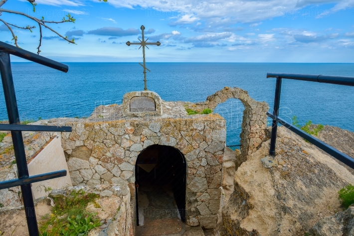 Chapel of St. Nicholas at Cape Kaliakra, Bulgaria