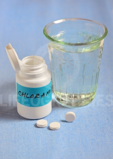 Chloramines tablets