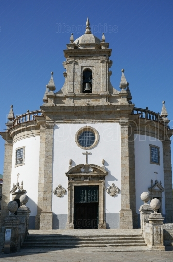 Church of Bom Jesus da Cruz, Barcelos, Portugal