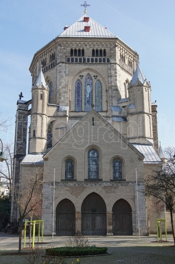 Church St  Gereon, Cologne, Germany
