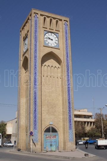 Clock Tower, Yazd, Iran, Asia