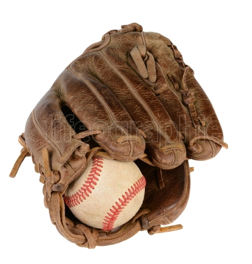 Closeup Baseball Glove