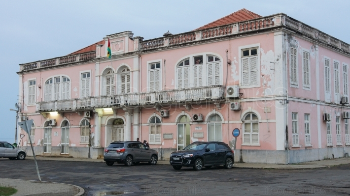 Colonial buildings of Sao Tome, Sao Tome and Principe, Africa