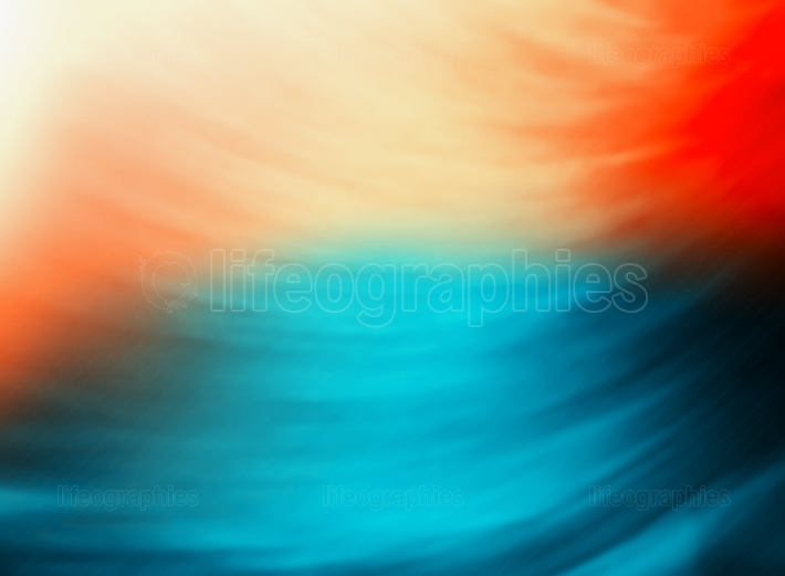 Colorful motion blur rotation backdrop