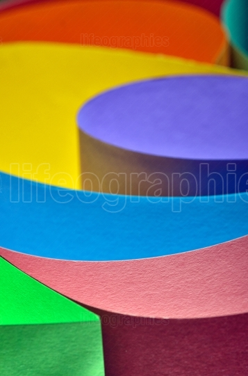 Colorfull abstract paper background