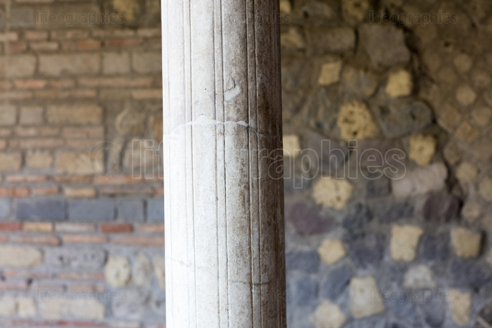 Column in Villa Oplontis